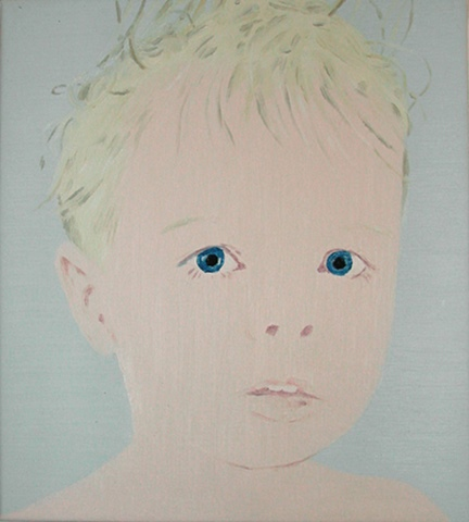 Boy with blue eyes